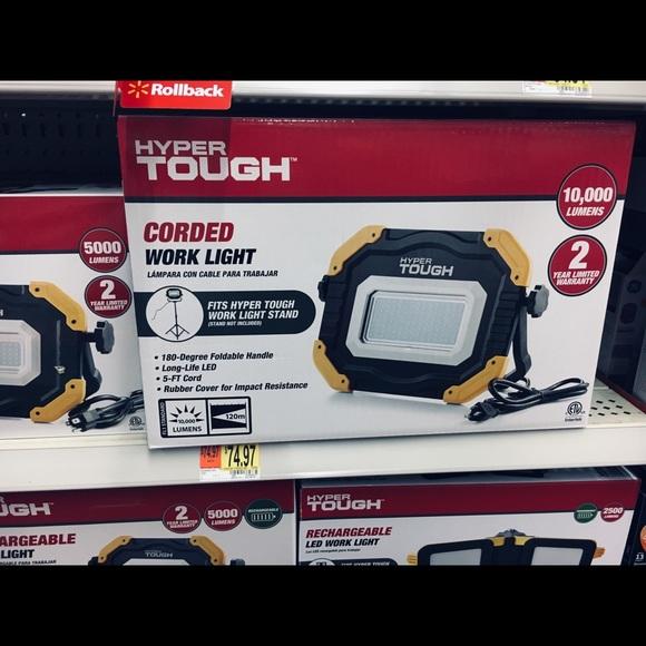 Hyper Tough Powerful Corded Work Light Nwt